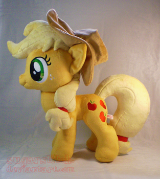 MLP FiM: Applejack by sugarstitch