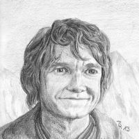 Bilbo Baggins by LoonaLucy