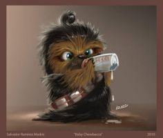 wookie by Yoda1xoxo