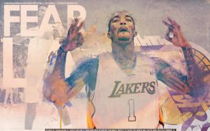 J.R. Smith Lakers Wallpaper by Angelmaker666
