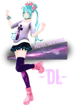 Pastel Goth Miku DL by Crystallyna