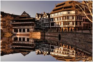 Strasbourg The house of the Tanners by Satourne
