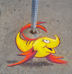 Two Fish ChalkFest Buffalo by charfade