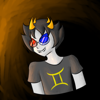 The world needs more happy Sollux by 4themindandsoul