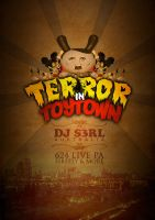 Terror In Toytown Flyer 1 by Kivex