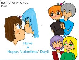 Happy Valentines Day by cutie-bee-kitty