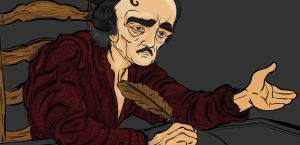 test colours edgar allan poe 4 by MsGothje