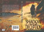 YA Dystopian Print Cover Shadow of Deception by Dafeenah