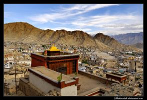 Leh Old city by Shahenshah