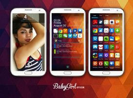Baby Girl (for those who treat phone s girlfriend) by fazun
