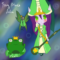 League of Legends: Frog Prince Lulu [Skin Idea] by TheMuteMagician
