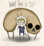 What time is it? by malengil