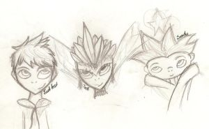 Rise of the Guardians by InvaderZaff