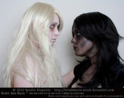 Black and White II by fetishfaerie-stock