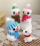 Snowman Family by DragonsAndBeasties