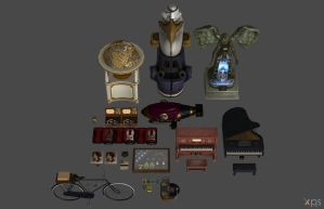 'Bioshock Infinite' Pack XPS ONLY!!! by lezisell