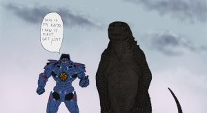 'This is my kaiju' by Ramul