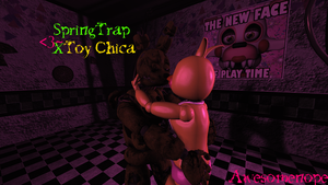 [SFM FNAF Ship Request] More Toy ChiTrap by Awesomenope
