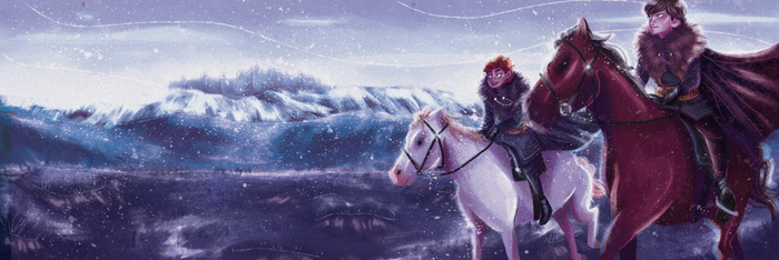 Robb and Jon (2/4) by Jimmy-ilustra