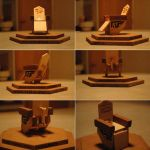 Woodcraft: SGA Control Chair by JargonTheRed