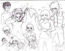 Kotomi and a bunch of other shit by CircuitsandWires