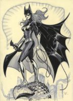 another batgirl by MichaelDooney