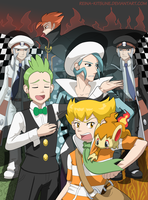 My men of Pokemon by Reina-Kitsune