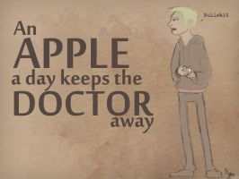Apple a day by kahahuna