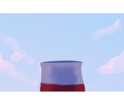 bird gif (click to see it move) by Selsea012