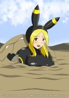 Latex Umbreon in Quicksand 2 by A-020