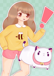 Bee and Puppycat by Adorkable202