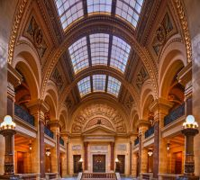 Senate Wing - Madison Capitol by jvrichardson