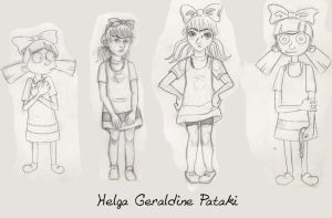 HA: Helga G. Pataki STYLES by InvisibleDeath