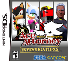 Ace Attorney Investigations: Shadow the Hedgehog by NightB1ader