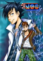 NOS manga cover 4 by NikoleArt