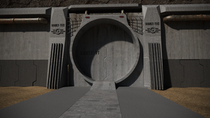 Vault Entrance WIP 1 by Grimous