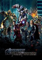 Avengers/Transformers Poster by GeekTruth64
