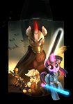 Star Wars Ponies of the Old Republic by XNightMelody