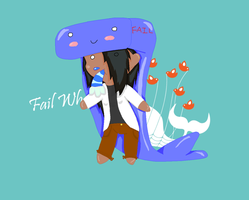 Your gonna have a whale by Umbrella-girl1995