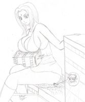 Tsunade with Lassic -Preview- by ArticalNight