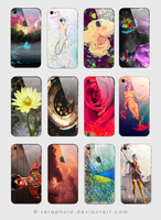 iphone 4 HD skins my art by Seraphoid