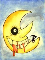 Soul Eater Moon Fanart :Traditional: by FoxfurNeo