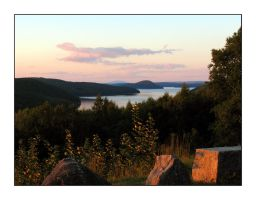 Quabbin Sunset by melissasigalovskaya