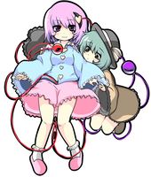 Komeiji sisters by MagicalChan