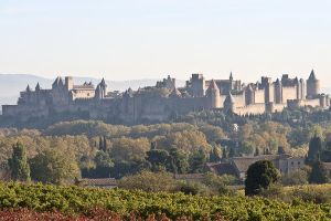 La Cite de Carcassonne - 1814 by Jaded-Paladin