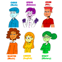 Teachers of Color by Sconimate-99