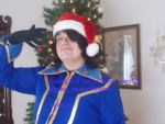 Lelouch's Christmas message to you! by Shadarkness