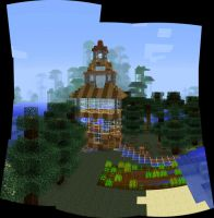 My Cake House by MinecraftPhotography