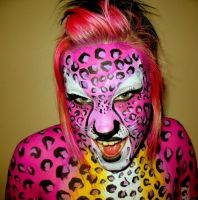 chewing gum leopard 5 by Toilumeine