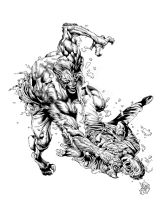 WEREWOLF BY NIGHT by knockmesilly